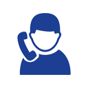 Icon of person with phone